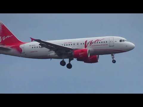 """VIM Airlines"" Airbus A319-111 landing at Samara(KUF)"