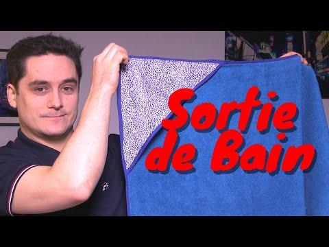 🛁Tuto Couture : La CAPE De BAIN
