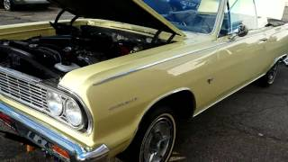 1964 Chevelle SS for sale Detroit Mi. auto appraisal 800-301-3886