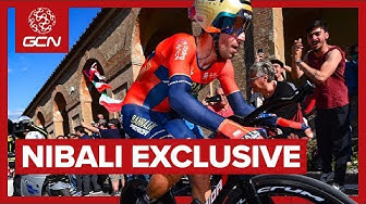 Behind The Scenes With Vincenzo Nibali | A Day At The Giro d'Italia