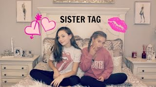 sister tag with maddie