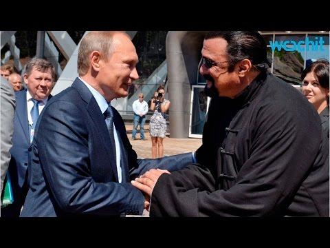 Steven Seagal Gets Russian Citizenship From Putin