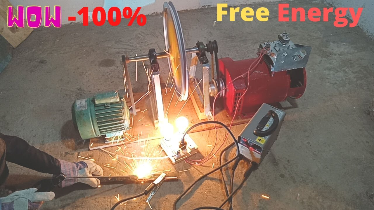 Download free electricity generator with alternator 220v and  5kw free energy generator