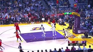 2nd Quarter, One Box Video: Los Angeles Lakers vs. Atlanta Hawks