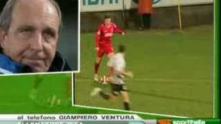 SPEZIA PISA 1-4 - INTERVISTA A MISTER VENTURA