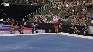Sam Mikulak Floor Exercise | Team USA Champions Series Presented By Xfinity