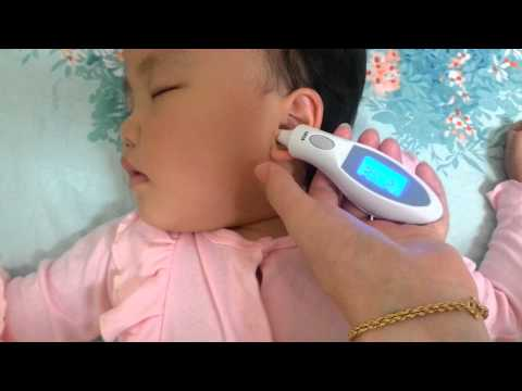 Infrared ear thermometer - measure body temperature for baby