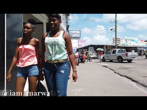 RAW REAL STREET WALK - BELIZE CITY BELIZE || iam_marwa