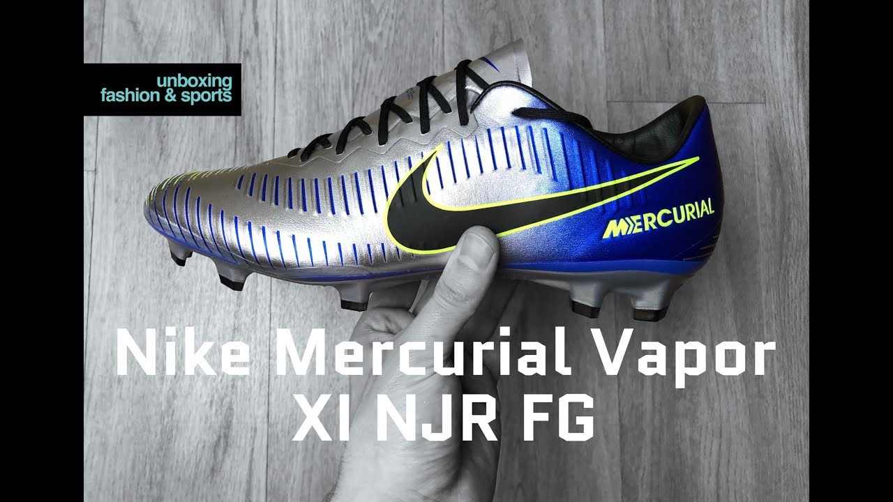 a7639293c Nike Mercurial Vapor XI NJR FG 'Racer Blue/blk-chr volt' | UNBOXING & ON  FEET | football boots | 4K