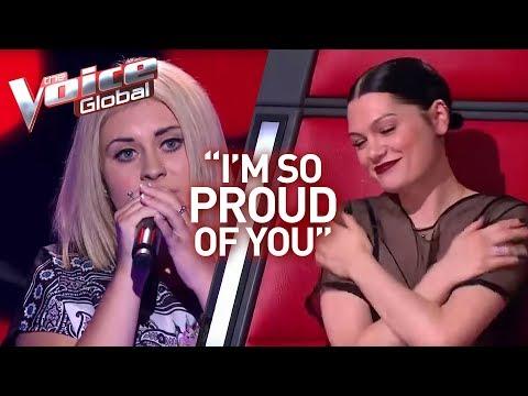 "Jessie J's ""little sister"" in The Voice | Winner's Journey #17"