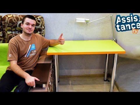 Как сделать столик из столешницы