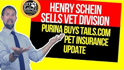 Henry Schein Sells Veterinary Division, Purina Buys Tails.com, Pet Insurance