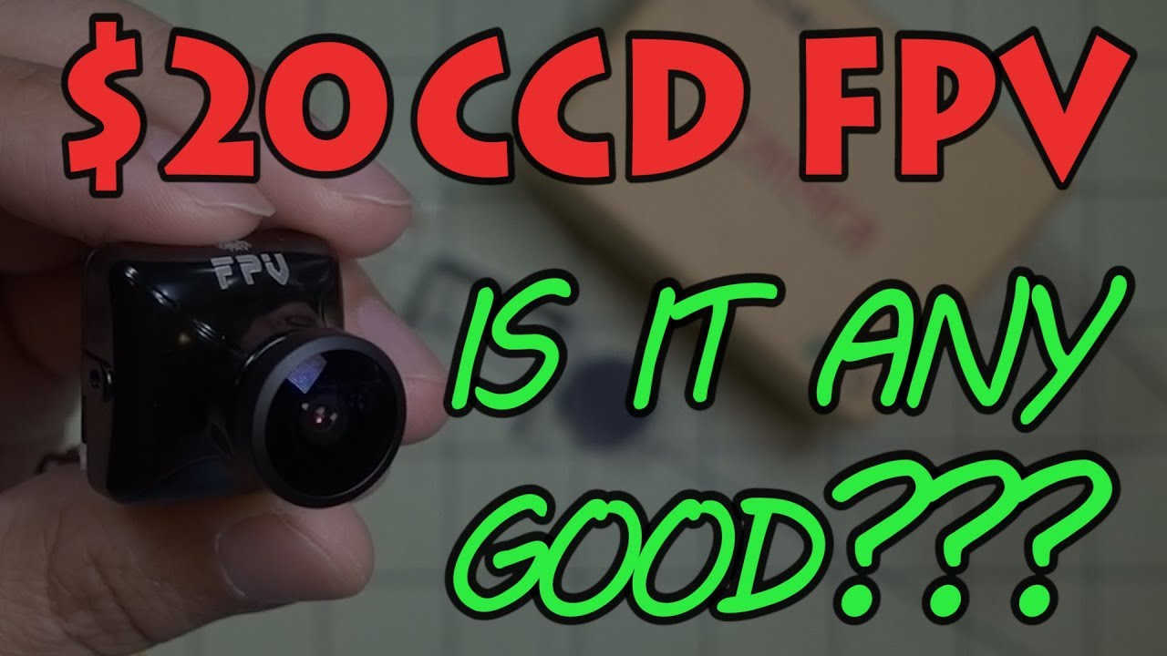 Eachine C800T CCD FPV Camera Review 📸
