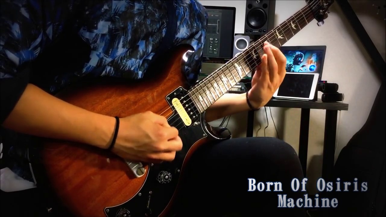 【Born Of Osiris】Machine-Guitar Cover - YouTube