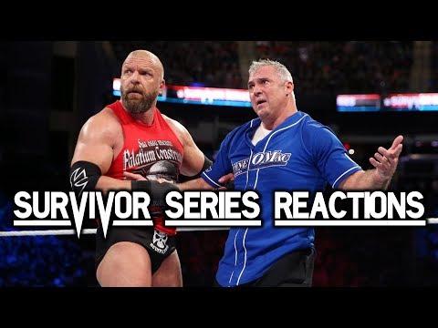 WWE Survivor Series 2017 Reactions