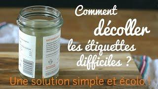 Comment décoller les étiquettes difficiles : une solution simple et écologique !