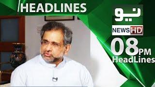 News Headlines | 08:00 PM - 13 June 2018 | Neo News