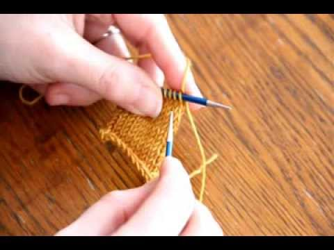 Knit Or Lace Bind Off An Elastic Bind Off Youtube