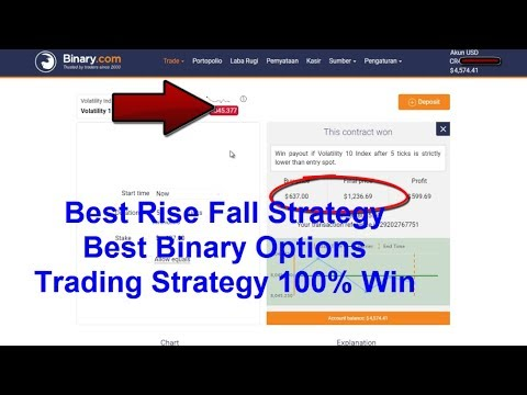 Binary option winning strategy pdf