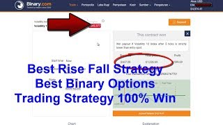 endincueg.me binary.com trading strategy, WOOOW Profit $20.000 in Real Account from $50, It Best Strategy