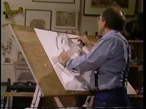 Philip Draws the Artist's Model, 1985