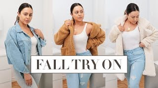FALL 2018 TRY ON HAUL - Thanksgiving Outfit Ideas!