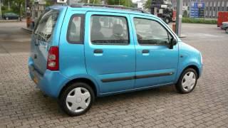Suzuki Wagon R+ 1.3 GLS bj.2004 Blauw Max Car Ede www.maxcar.nl auto's
