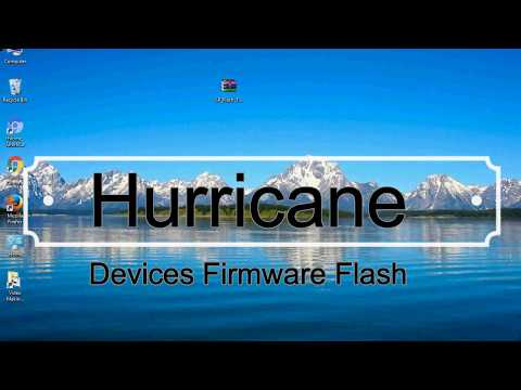How To Flashing Hurricane Firmware (Stock ROM) Using Smartphone Flash Tool