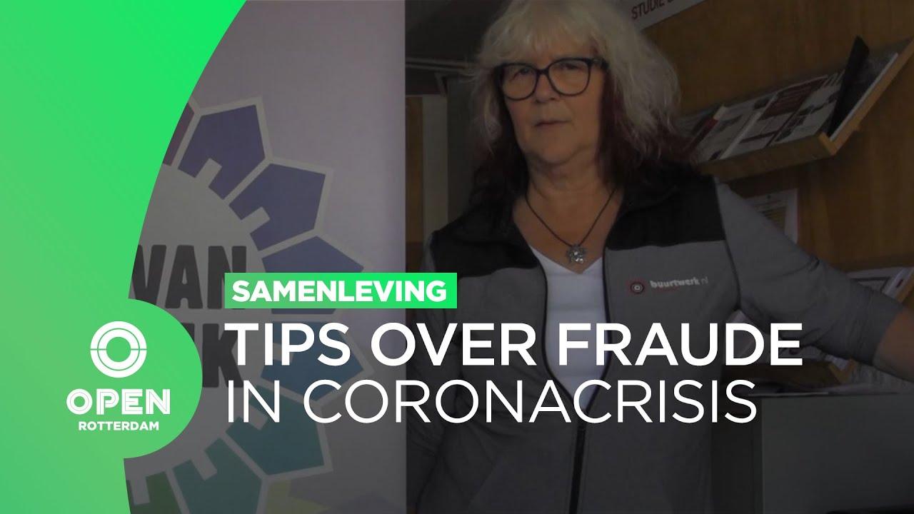 Buurtwerk Prins Alexander informeert bewoners over fraude in coronacrisis