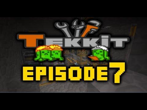 Minecraft Tekkit - Let's Play Ep 7 - Bye Bye Sean