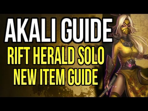Akali Mid-Season Update Guide (HUGE BUFFS) Updated Item Guide & Rift Herald Solo Strategy
