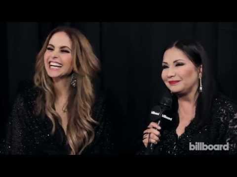 Ana Gabriel and Lucero Backstage at the 2015 Billboard Latin Music Awards