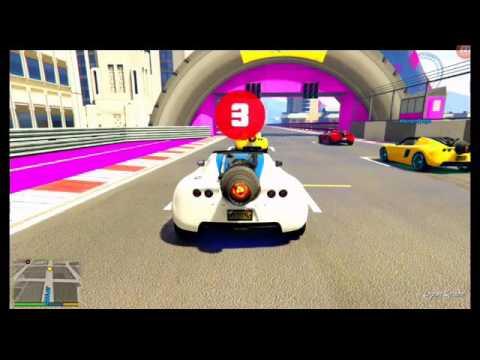 Download Petite course en voiture fusée GTA 5