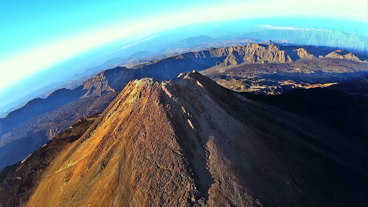 VSC - Amanecer en Tenerife - La sombra piramidal del Teide