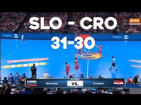 2017 Handball Slovenia - Croatia [Slovenija Hrvatska rukomet 31-30] last minutes