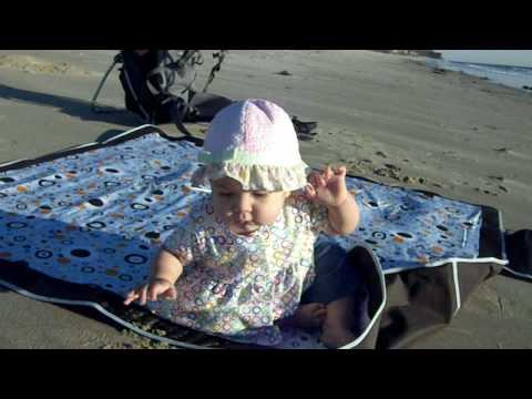 Rose tests the Malibu sands.AVI
