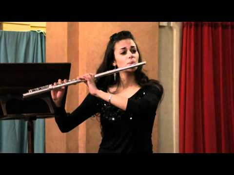 Syrinx di Claude Debussy per flauto solo