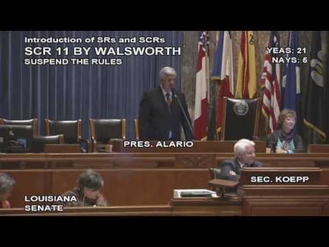 Louisiana Senate asks Betsy DeVos to visit (Feb. 16)