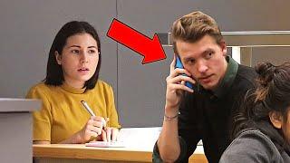 Embarrassing Phone Calls in Public (Part 8) PRANK!