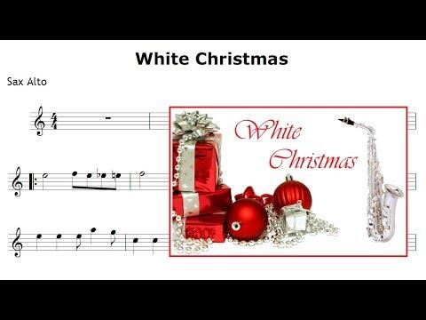 White Christmas - Sheet Music Sax Alto