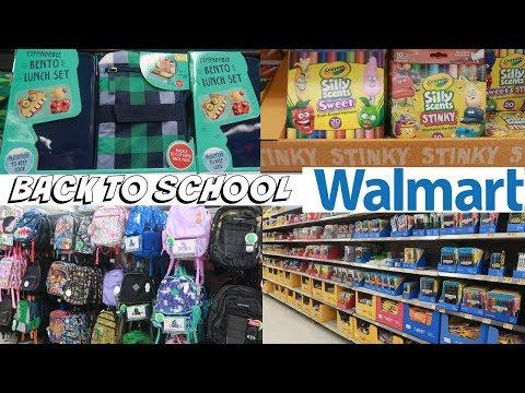 WALMART BACK TO SCHOOL SHOPPING 2019* UPDATE!!!