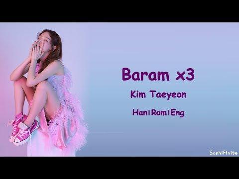Free Download Taeyeon – 바람 바람 바람 (baram X 3) Lyrics Han|rom|eng Mp3 dan Mp4