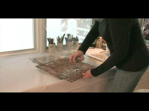 KIM GRANT-Original Acrylic Painting on Plexiglass - Kim Grant Designs