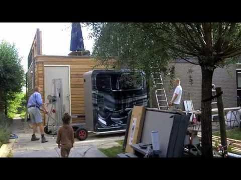 Hedendaags Plaatsing Jacuzzi op dakterras VakantieVillaGrou! - YouTube FH-19