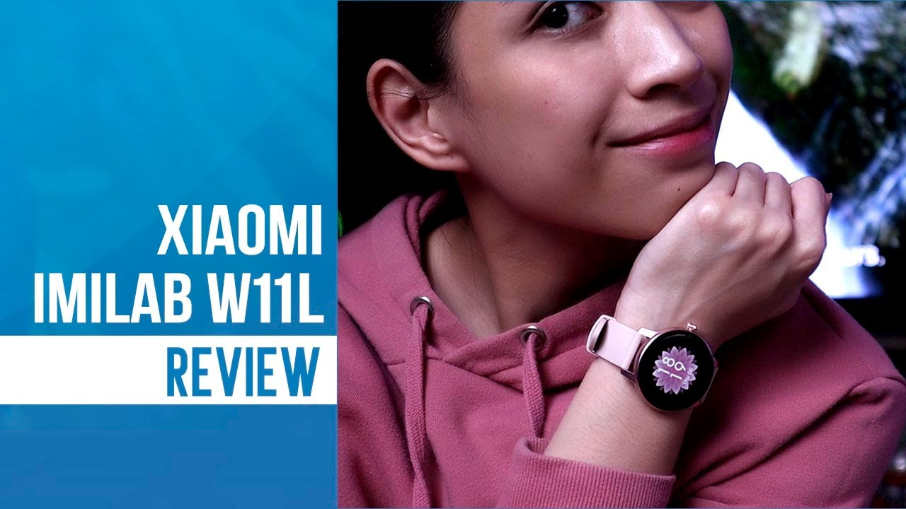 Xiaomi IMILAB W11L Smartwatch: Looking pretty with the essentials!