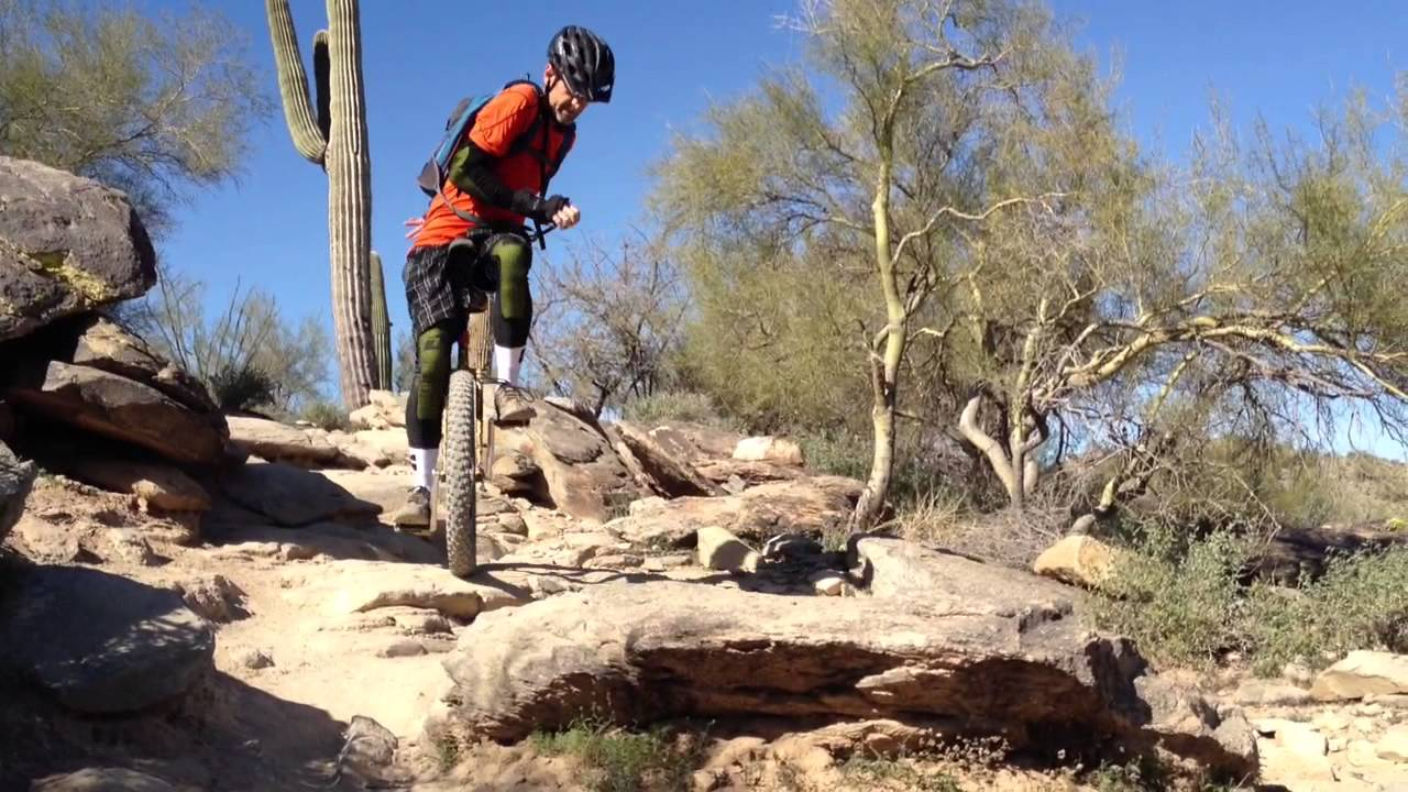 How to Off Road Unicycle