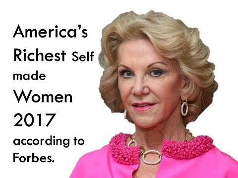 America's richest self-made women 2017 according to Forbes