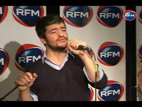 """Grégoire Chante """"Rue Des Etoiles"""" Sur RFM"""