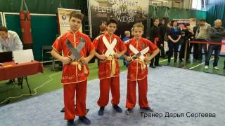 Iliqchuan kids on Moscow Kung-fu Federation Championship, 26 Feb 2017