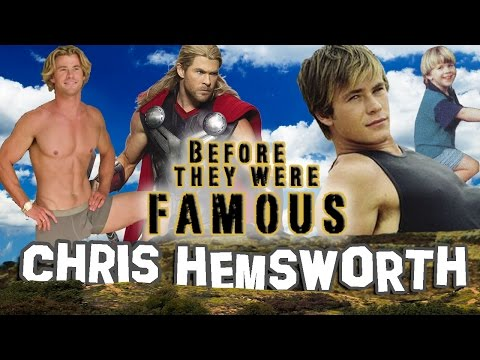 CHRIS HEMSWORTH - Before They Were Famous - THOR